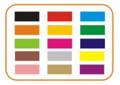 Color palettes for textiles of all kinds