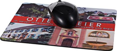 Textil-Mousepads, 270 x 190 mm, 5 mm stark