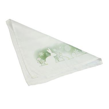 Stoffserviette weiß 40 x 40 cm