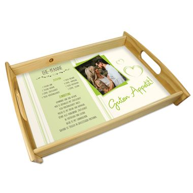 Wooden tray, size 285 x 435 mm