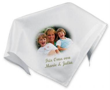 Tischdecke weiß, Größe 85 x 85 cm