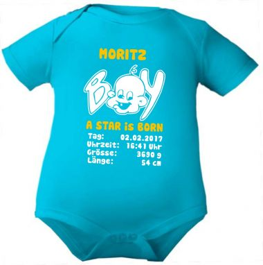 Baby Body Boy a star is born und Geburtsdaten