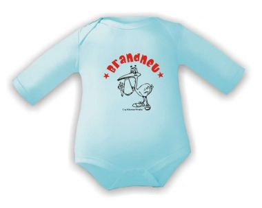 BABY BODY mit Spruch  Weiß  3//6 Monate  Neu