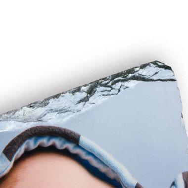 Schiefertafel in Quadratform, ca. 10 mm stark