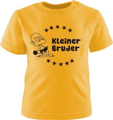 Baby und Kinder Kurzarm T-Shirt Kleiner Bruder
