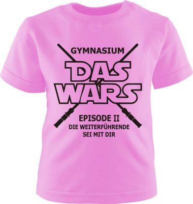 Baby und Kinder kurzarm T-Shirt GYMNASIUM
