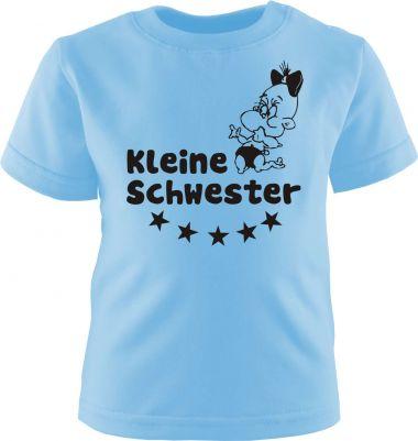 Baby und Kinder Kurzarm T-Shirt Kleine Schwester