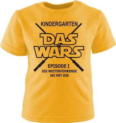 Baby und Kinder Kurzarm T-Shirt KINDERGARTEN