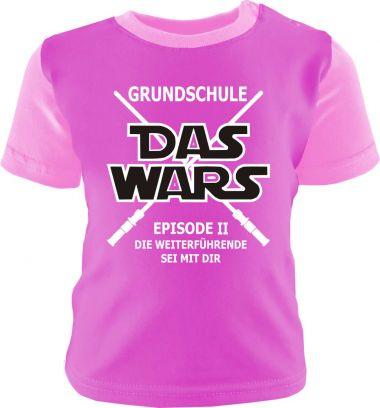 Baby und Kinder Shirt kurzarm Multicolor GRUNDSCHULE