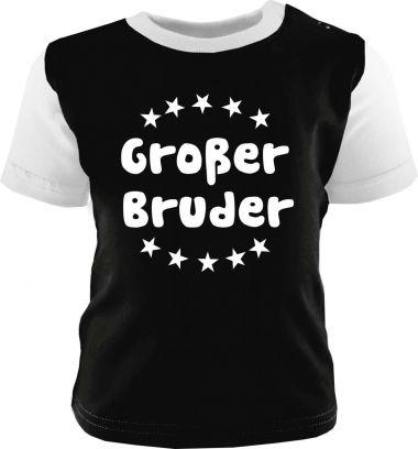 Baby und Kinder Shirt kurzarm Multicolor Großer Bruder