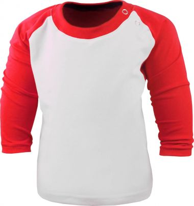 Kinder Baseball Langarm T-Shirt