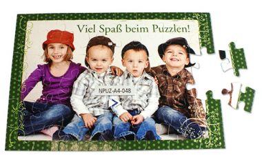 Kartonpuzzle rahmenlos, Größe 200 x 285 x 4 mm