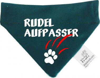 Hunde Durchzugs-Halstuch gestreift Rudelaufpasser