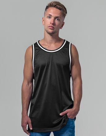 Mesh Tanktop / Achsel T-Shirt zweifarbig