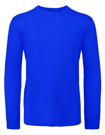 Slim Fit Langarm T-Shirt / körperbetont