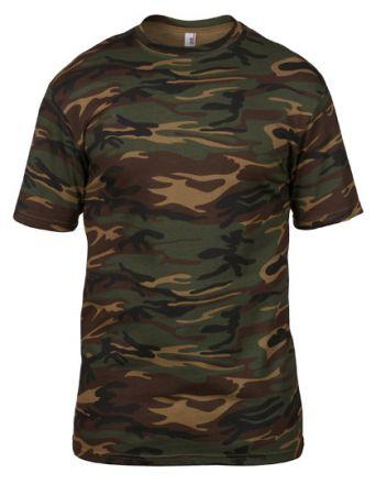 Camouflage Tee / T-Shirt im Camo-Design