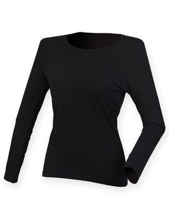 Lady Langarm T-Shirt