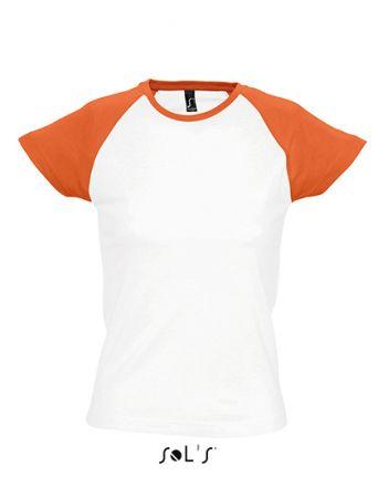 Lady Raglan Baseball T-Shirt
