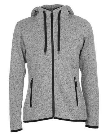 Ladies Active Knit Fleece Jacket