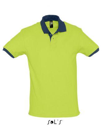 Unisex Contrast Polo Shirt