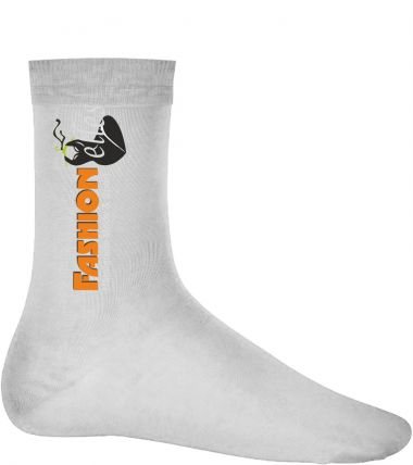bedruckbare Subli Socken weiß