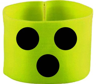 gummielastische Armbinde BLINDENPUNKTE / 10 cm Höhe