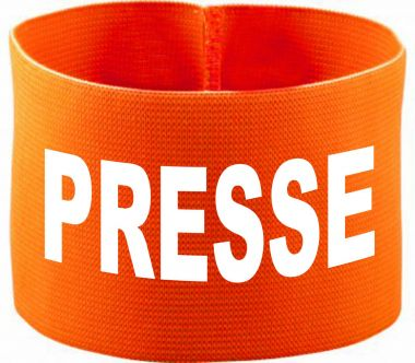 gummielastische Armbinde PRESSE / 10 cm Höhe