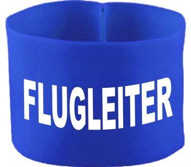 rubber elastic armband / mediaband with FLUGLEITER / 10 cm height