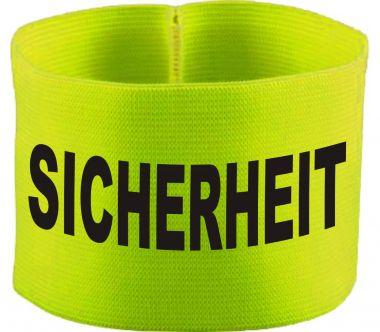 gummielastische Armbinde SICHERHEIT / 10 cm Höhe