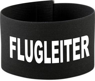größenverstellbare Klett-Armbinde mit FLUGLEITER / 10 cm Höhe