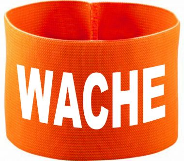 gummielastische Armbinde WACHE / 10 cm Höhe