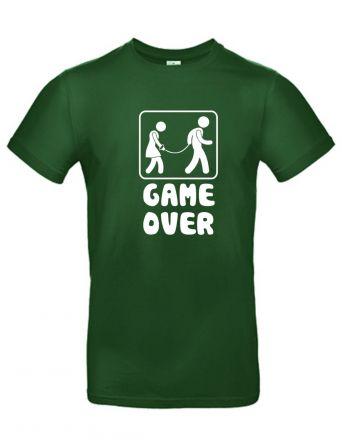 Shirt Game over / an der Leine