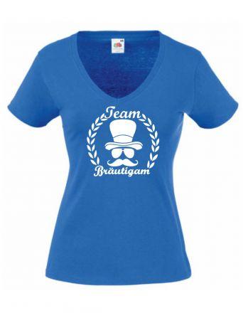 Shirt Team Bräutigam mit Kranz