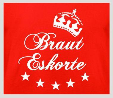 Shirt Braut Eskorte
