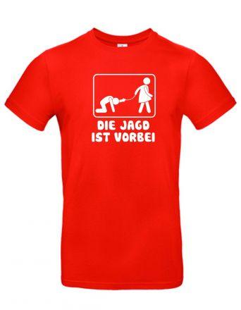 Shirt Die Jagd ist vorbei