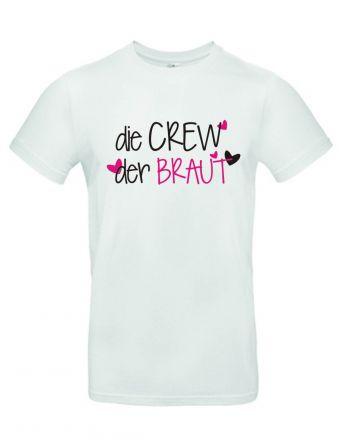 Shirt Crew der Braut