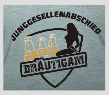 Shirt Junggesellenabschied Bräutigam