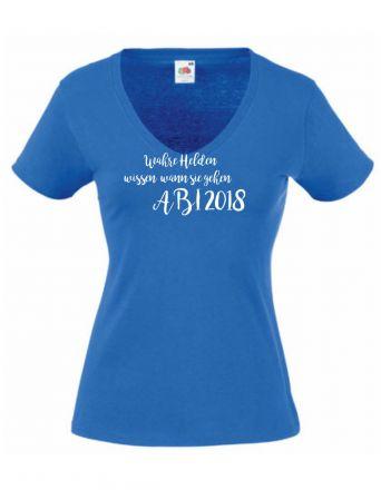 Kurzarm T-Shirt Endlich 18 noch erwachsen werden / NEU