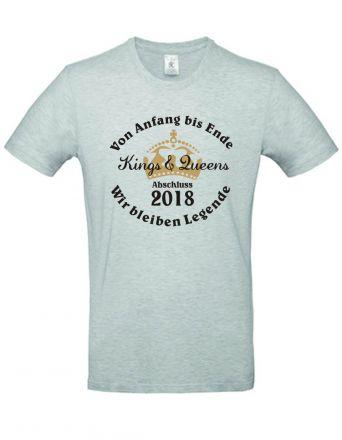 Shirt Von Anfang bis Ende wir bleiben Legende