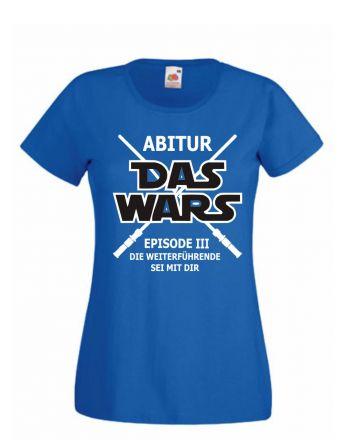 Shirt Abitur - das wars