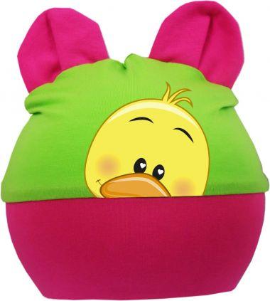 Baby Ohren Mütze Multicolor Sweet Animal GÄNSCHEN