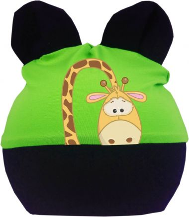 Baby Ohren Mütze Multicolor Sweet Animal Giraffe
