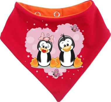 Baby Wende-Halstuch Multicolor Sweet Animal Paar Pingiun