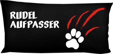 Hunde Kissen 80 x 40 cm Rudelaufpasser und Namen