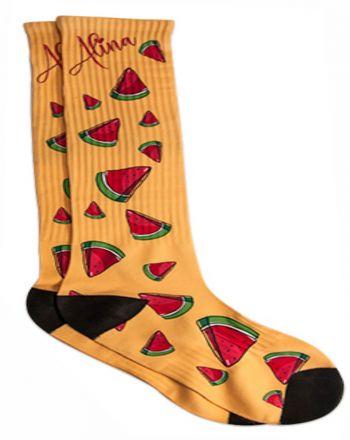 vollflächig bedruckbare Socke Medium