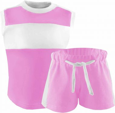 Kinder Achsel Trikot Set T-Shirt und Hose Fashion