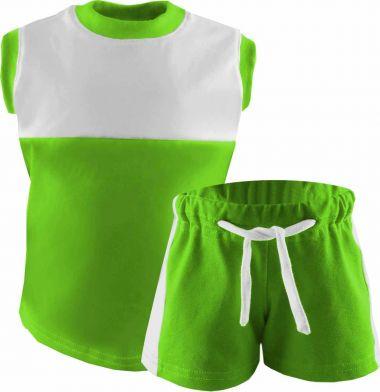 Kinder Achsel Trikot Set T-Shirt und Hose Classic
