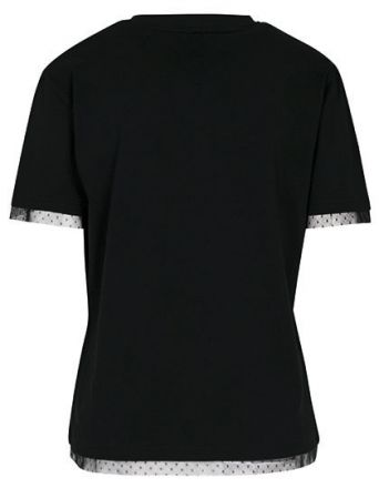 Ladies Shirt Laces Tee