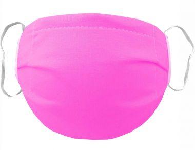Mehrweg Stoff Mund & Gesichtsmaske mit Vlies / mit Gummi / mit Wunschdruck