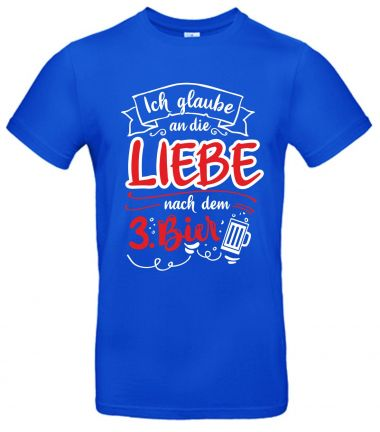 Shirt Ich glaube an die Liebe